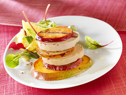 Entr es foie gras - Decoration foie gras assiette ...